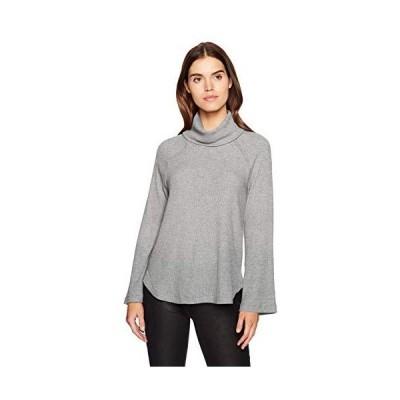 Michael Stars Women's Madison Brushed Sweater Rib Long Sleeve Turtleneck Ra