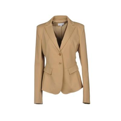 パトリツィア ペペ PATRIZIA PEPE テーラードジャケット キャメル 42 コットン 48% / ナイロン 45% / ポリウレタン 7%