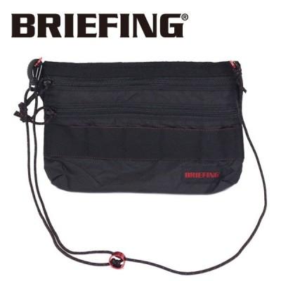 BRIEFING (ブリーフィング) BRM182201 SACOCHE S SL PACKABLE サコッシュ パッカブル BLACK BR403