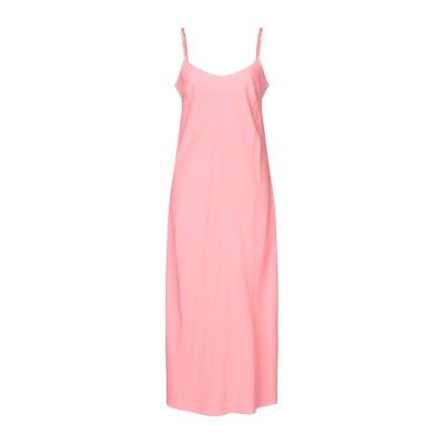 ツインセット シモーナ バルビエリ TWINSET 7分丈ワンピース・ドレス ピンク 44 ポリエステル 100% 7分丈ワンピース・ドレス