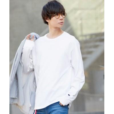 MONO-MART / Champion Authentic T-SHIRTS/ チャンピオン コットン Tシャツ Long Sleeve T MEN トップス > Tシャツ/カットソー