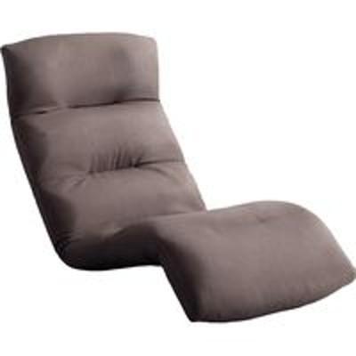 ホームテイストホームテイスト モルン 座椅子 14段階リクライニング 転倒防止機能付き ダウンスタイル 布張 ブラウン SH-07-MOL-D 1脚(直送品)