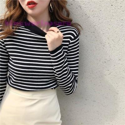 ニットレディース セーター uネック 付き トップス ニット セーター 秋冬 厚手 大きいサイズ セーター 40代 ゆったり 体型カバー 長袖 ニットウェア