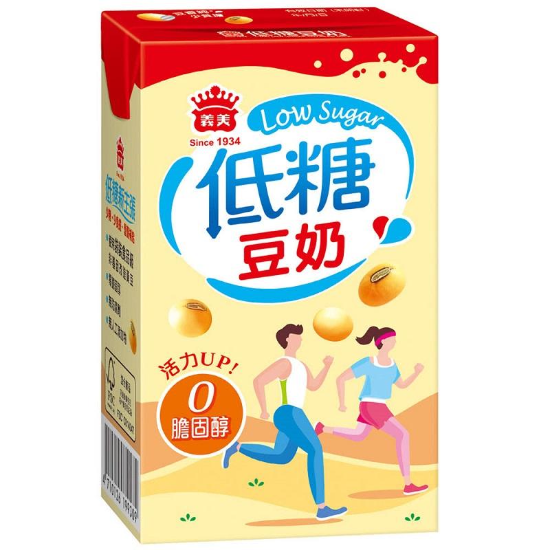 義美低糖豆奶250ml