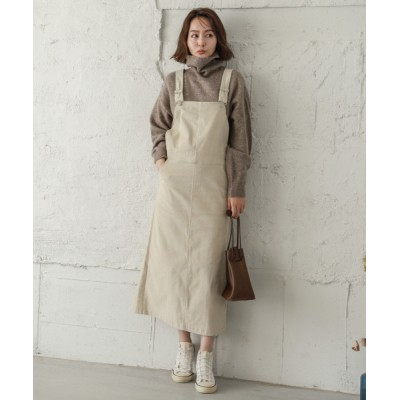 SUGAR BISKET / コーデュロイサロペットスカート WOMEN オールインワン・サロペット > サロペット/オーバーオール