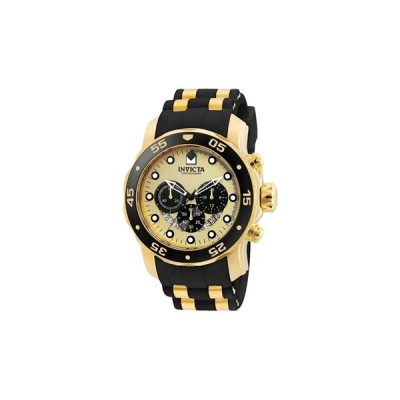 インビクタ Invicta インヴィクタ 男性用 腕時計 メンズ ウォッチ クロノグラフ ゴールド 24852