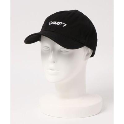 帽子 キャップ 【CAMP7】ロゴツイルキャップ