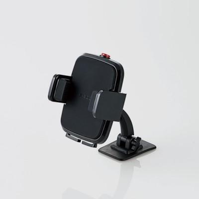 エレコム(ELECOM) 車載アクセサリー/スマホスタンド/テープ貼付タイプ/ブラック P-CARS01BK