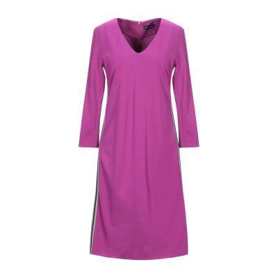 MARIELLA ROSATI ミニワンピース&ドレス フューシャ 48 レーヨン 66% / ナイロン 30% / ポリウレタン 4% ミニワンピ