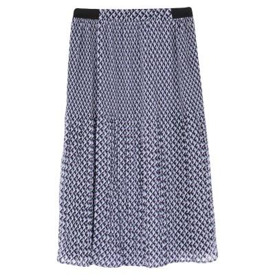 ペペ ジーンズ PEPE JEANS 7分丈スカート パープル S ポリエステル 100% 7分丈スカート