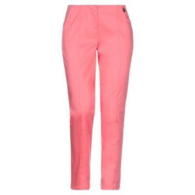 LUCKYLU  Milano パンツ サーモンピンク 40 コットン 95% / ポリウレタン 5% パンツ