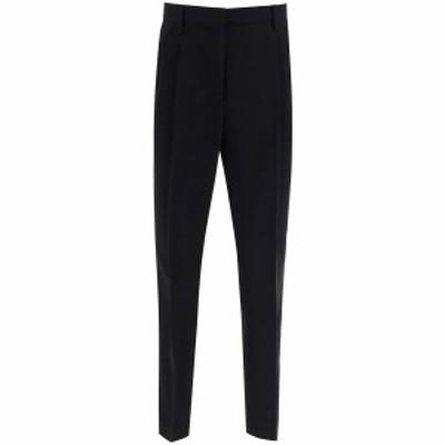 N.21/ヌメロ ヴェントゥーノ Black N.21 cropped classic trousers レディース 秋冬2020 B081 5336 ik