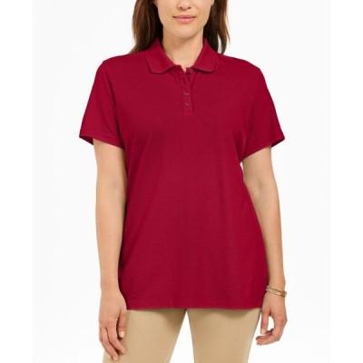 ケレンスコット レディース シャツ トップス Cotton Polo Top Created For Macy's