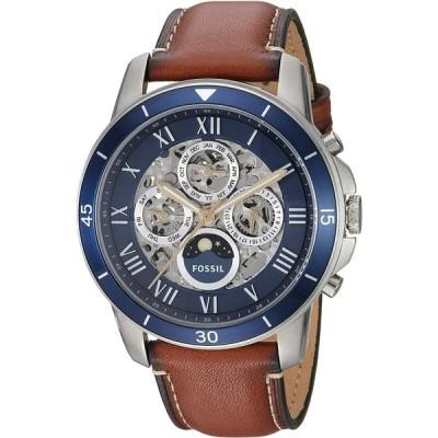 【送料無料】腕時計  Fossil Men's ME3140 Grant Sport Automatic Luggage Leather Watch 輸入品