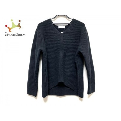 エブール ebure 長袖セーター サイズ38 M レディース 黒 新着 20200911