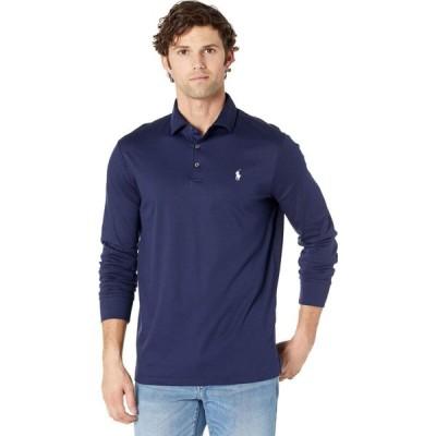 ラルフ ローレン Polo Ralph Lauren メンズ ポロシャツ トップス Soft Touch Classic Fit Long Sleeve Polo French Navy