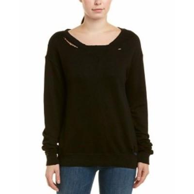 ファッション トップス N:Philanthropy Womens Philanthropy Joni Sweatshirt Xs Black