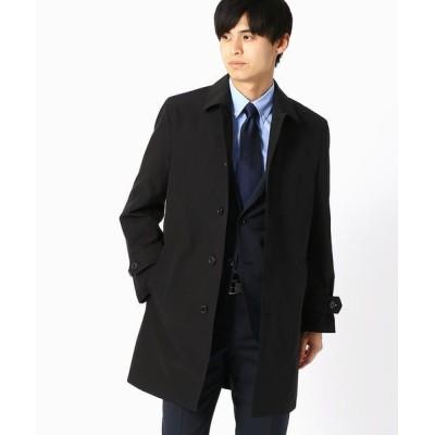 COMME CA ISM/コムサイズム 【ビジネス対応】 ステンカラーコート ブラック S