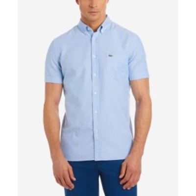 ラコステ メンズ シャツ トップス Men's Oxford Shirt Hemisphere