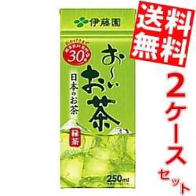 【送料無料】伊藤園お~いお茶 緑茶250ml紙パック 48本(24本×2ケース)[のしOK]big_dr