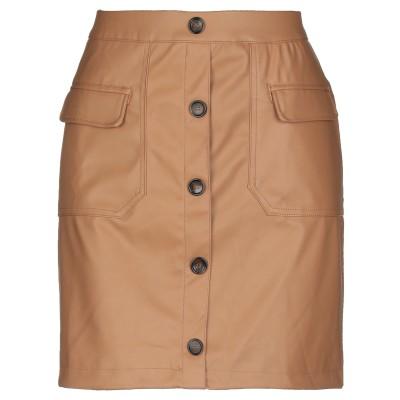 VERO MODA ミニスカート ブラウン M ポリウレタン 100% ミニスカート