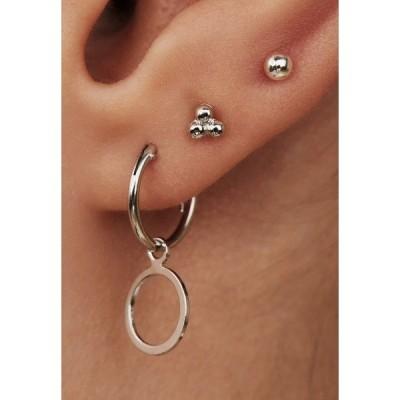 セレクテッドジュエルズ ピアス&イヤリング レディース アクセサリー SET - Earrings - silber