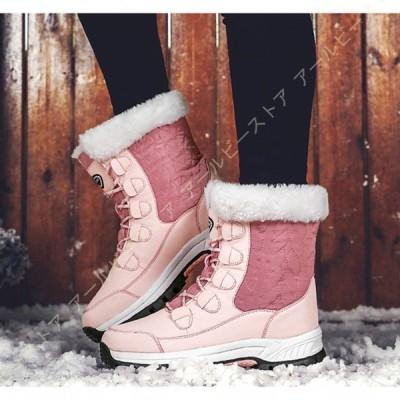ムートンブーツ レディース 暖かい 冬用ブーツ ショット丈 スノーブーツ 綿靴 裏ボア 2WAY 折り返し 防寒 ミドルブーツ カジュアル 雪用 保温 アウトドア