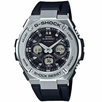 腕時計 カシオ メンズ Casio G-Shock Steel Black Dial Polyurethane Strap Men's Watch GST-S310-1A