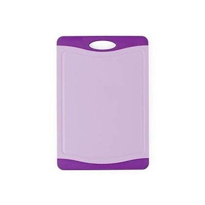 まな板 Neoflam Poly Cutting Board with Microban Antimicrobial Protection, Purple b