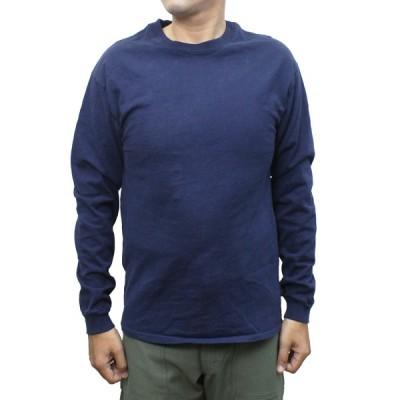 """【送料無料】 """"Californian Tees"""" RED WHITE BLUE brand U.S.A.MADE 6oz CrewNeck Long Sleeve Tee MENS メンズ LADIES レディース アメリカ製 Navy S-L"""