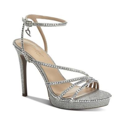 タリア ソディ サンダル シューズ レディース Livy Platform Dress Sandals, Created for Macy's Silver Bling