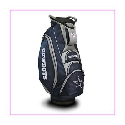 【送料無料】Team Golf NFL Dallas Cowboys Victory Golf Cart Bag, 10-way Top with Integrated Dual Handle & External Putter Well, Cooler