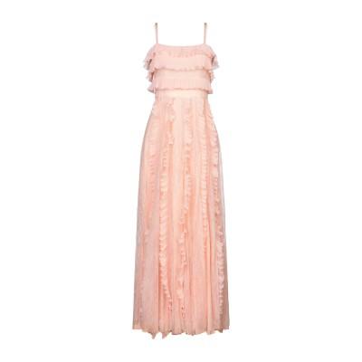 ANNA RACHELE ロングワンピース&ドレス ライトピンク 40 ナイロン 100% / ポリエステル ロングワンピース&ドレス