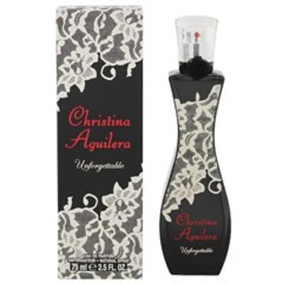 【香水 クリスティーナ アギレラ】CHRISTINA AGUILERA アンフォゲッタブル EDP・SP 75ml 香水 フレグランス UNFORGETTABLE