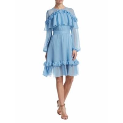 プラバル・グルン レディース ワンピース Mesh Ruffle Dress