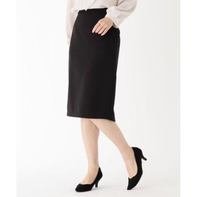 【大きいサイズあり・13号】スムースストレッチタイトスカート