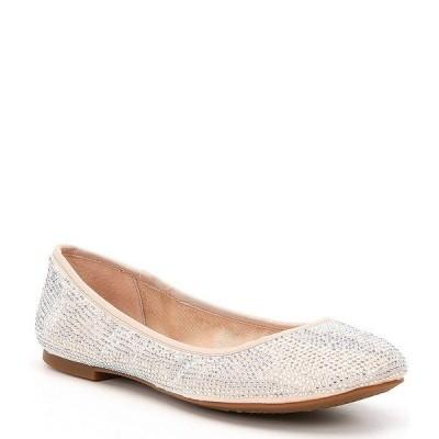 ジービー レディース サンダル シューズ Star-Brite Microfiber Rhinestone Detail Ballet Flats Pink Marble