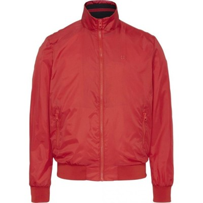 カルバンクライン Calvin Klein Jeans メンズ ブルゾン ミリタリージャケット アウター Bomber Jacket Red