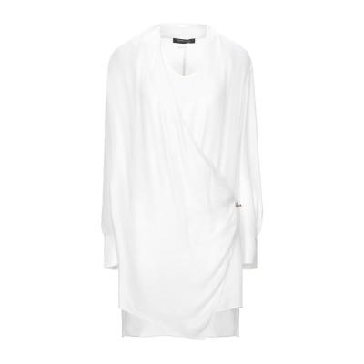 MARCIANO ミニワンピース&ドレス ホワイト 44 ポリエステル 100% ミニワンピース&ドレス