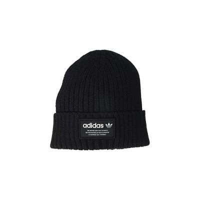 アディダス オリジナルス Originals Recycled Rib Cuff Beanie メンズ 帽子 Black