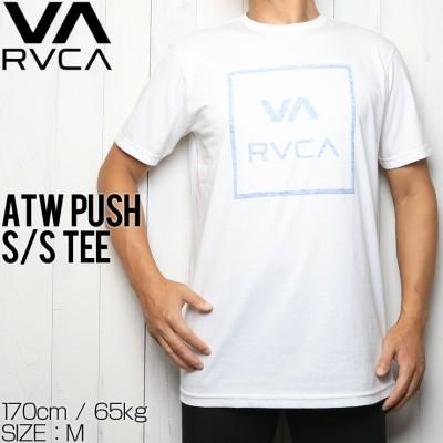[クリックポスト対応] RVCA ルーカ ATW PUSH S/S TEE 半袖Tシャツ M401URAT(M)