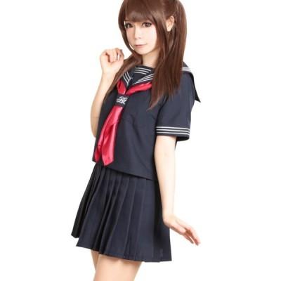 コスプレ ハロウィン コスプレ コスチューム一式 3点セット 制服 セーラー服 日比谷女子高 ハロウィン 衣装 costume980