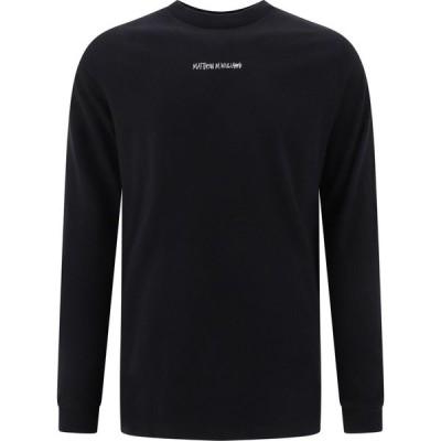 """ステューシー MMW X Stussy メンズ 長袖Tシャツ トップス """"Mmw X Stussy"""" T-Shirt Black"""