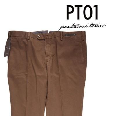 PT01(ピーティー ゼロウーノ) パンツ NT80CODT01Z00CLA  ブラウン 56 【AW19582】