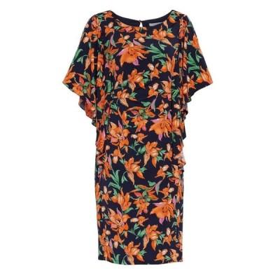 ジーナ バッコーニ Gina Bacconi レディース ワンピース ワンピース・ドレス Mae Dress With Cape Sleeve Orange