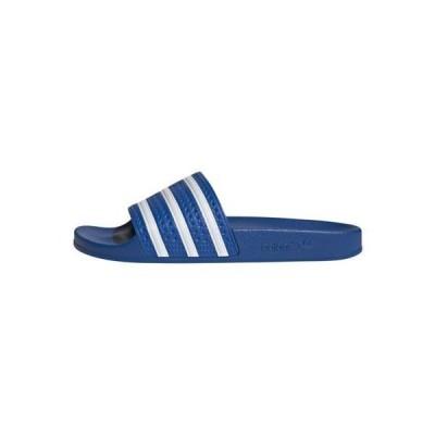 アディダス メンズ 靴 シューズ ADILETTE UNISEX - Mules - glory blue/ftwr white/glory blue