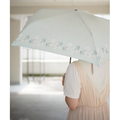 Port / 【 tenoe / テノエ 】ナチュラル デザイン 雨晴兼用 手開き 折り畳み傘 / 紫外線カット / UVカット / 55㎝ WOMEN ファッション雑貨 > 折りたたみ傘