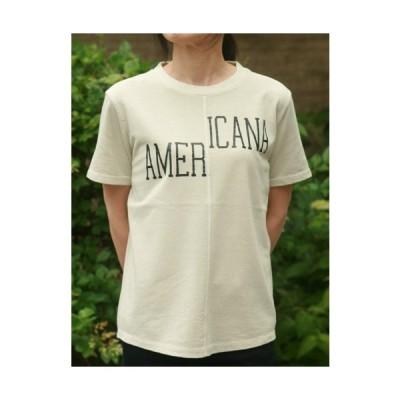 【Americana】(アメリカーナ)AMERICANA-T(ライトグレー)送料全国一律300円