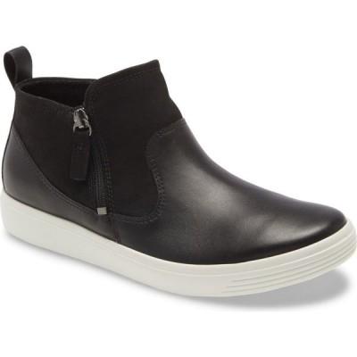 エコー ECCO レディース ブーツ シューズ・靴 Soft Classic Bootie Black Leather