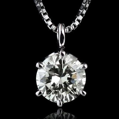 ネックレス 一粒 ダイヤモンド ネックレス プラチナ ダイヤモンドネックレス【今だけ代引手数料無料】